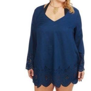 Catalina Swim Cover Pullover Tunic Top